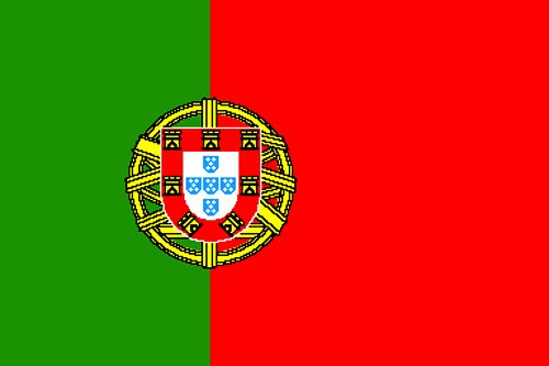New Grand Drapeau portugais 152 x 91 cm