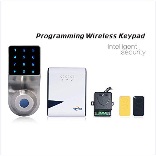 Preisvergleich Produktbild Smart Doorbell Wireless mit Digital Keypad Music Box Home Security Anti-Theft Smart Home Entry