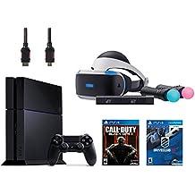 PlayStation VR Start Bundle 5 Items:VR Headset,Move Controller,PlayStation Camera Motion Sensor,PlayStation 4Call of Duty Black Ops III,VR Game Disc PSVR DriveClub(Version US, Importée)