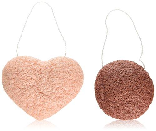 andalou-sensitive-konjac-facial-sponge-duo-pack