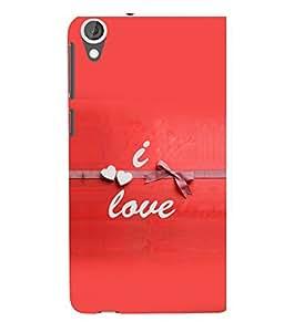 printtech Love Quotes Back Case Cover for HTC Desire 820::HTC Desire 820Q::HTC Desire 820S