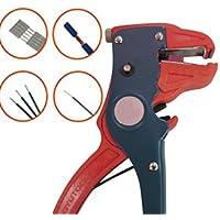 lzndeal 2 en 1 Durable alambre automático cortador de cable herramienta electricista