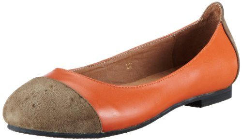 Lise Lindvig  MORGAN,  Scarpe chiuse donna, Arancione (Orange (Orange)), 38