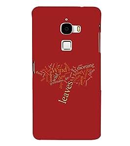 PrintVisa Designer Back Case Cover for LeTv Le Max :: LeEco Le Max (Decorative Word design :: Red color design :: Multicolor Lettering design :: Stylish lettering design :: Lovely color wallpaper)