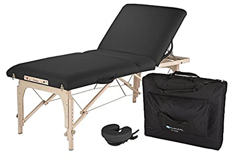 EARTHLITE Avalon XD Massage Therapy Table Package - Premium Value & Style, Professional Massage Table Portable incl. Flex-Rest Face Cradle and Carry Case,