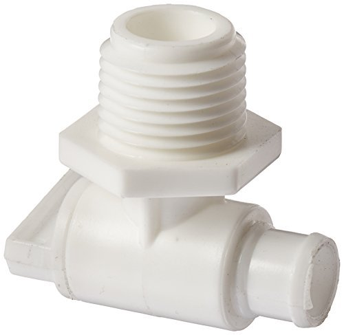 Male Pipe Thread (Peterson Molding (18-966AW) 1/2 Male Pipe Thread Drain Cock by Peterson Molding)
