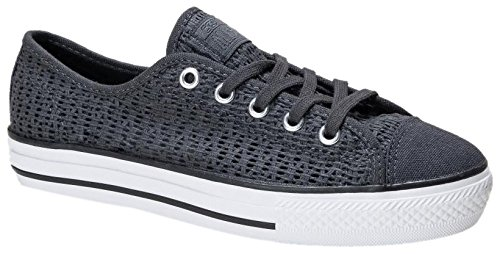 Converse Damen Chuck Taylor All Star High Line Ox Sneaker Anthrazit/Weiß