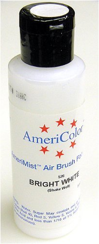 Airbrush Farbe AmeriColor AmeriMist BRIGHT WHITE 133ml -