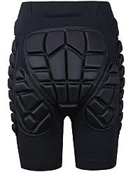 MCTi Enfants Garçons Filles 3D Protection Hip Eva Pantalon Court Protection Gear Guard pour Ski Patinage Snowboard