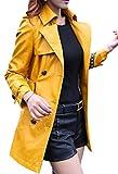Scothen Manteau en Cuir pour Femme en Cuir PU avec Veste de Sport Manteau en Cuir pour Femme Manteau en Cuir pour Femme Veste en Cuir pour Femme en Similicuir col V avec Veste décontractée