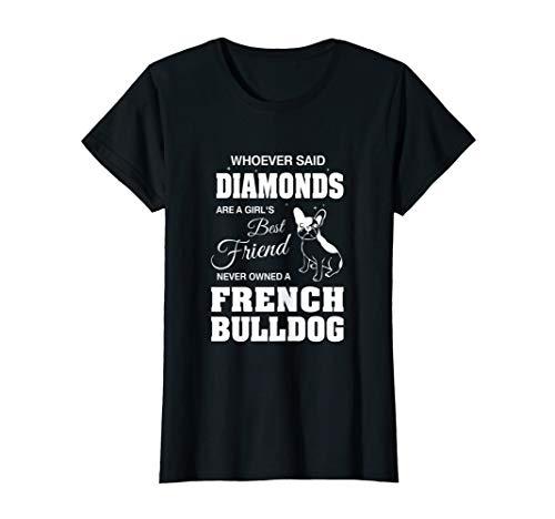 Französische Bulldoggen-Frauen-Damen  T-Shirt - Bulldogge T-shirt Tee