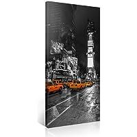 Gallery of Innovative Art – New York Times Square – 100x50cm – Larga stampa su tela per decorazione murale – Immagine su tela su telaio in legno – Stampa su tela Giclée – Arazzo decorazione murale