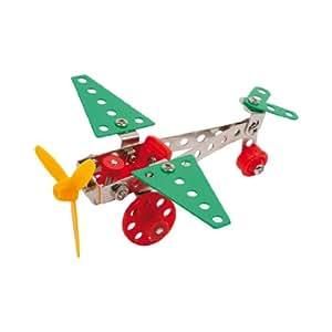 Kit de construction en métal «Avion»