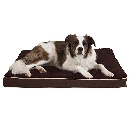 Aspen Pet Orthopädisches Hundebett, 28 X 38 X 3.5, braun