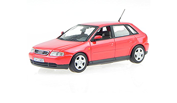 Audi A3 8l 5 Türer Rot Modellauto Minichamps 1 43 Spielzeug