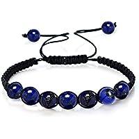 mainbead Chakra Armband Reiki heilende Wirkung rund Echt Steine Perlen, Multicolor Auswahl preisvergleich bei billige-tabletten.eu