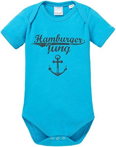 EZYshirt® Hamburger Jung & Deern Vol. 2 Baby Body Shortsleeve Bio Baumwolle