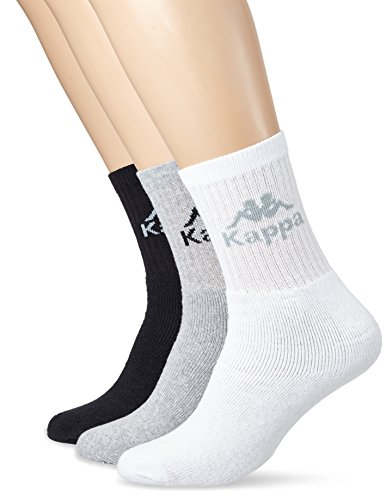 kappa-chaussettes-australie-3-lot-de-3-multicolore-black-white-grey-43-46