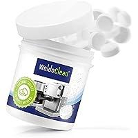 WoldoClean | 40x Reinigungstabletten für Kaffeevollautomaten | Vollautomat | Kaffeemaschinen | Kaffeeautomat | Reinigungstabs | Kaffeefettlöser