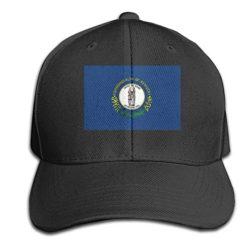 Osmykqe Kentucky-Flag Unisex Sommer Sonnenhut einstellbar lässig Golf Tennis Caps - Ranger-golf-hut