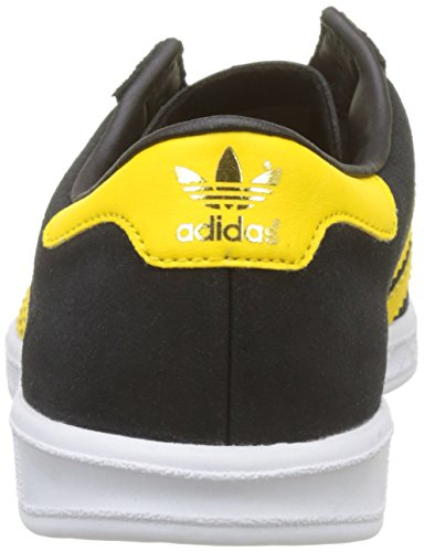 adidas Originals Hamburg, Baskets Basses Homme Noir (Core Black/Eqt Yellow/footwear White)