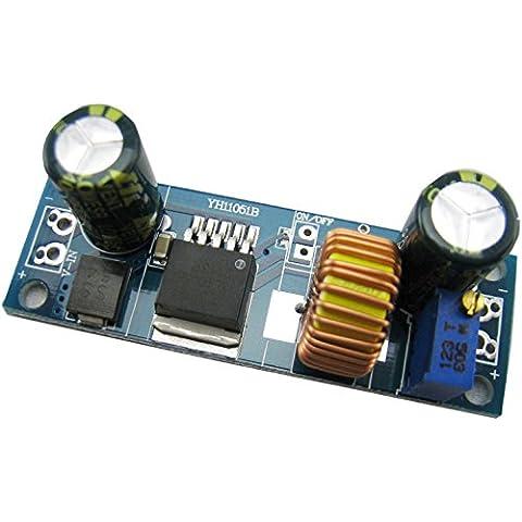 Yeeco Alta Efficienza Ondulazione Bassa DC Attuale Secchio Converter 4-30V per 0.8-30V Regolabile Scendere Attuale Alimentazione Elettrica Modulo