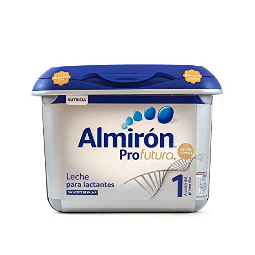 Almirón Profutura 1 Leche de Inicio en Polvo a Partir del Primer Día - Paquete de 4 x 800 gr - Total: 3.2 kg