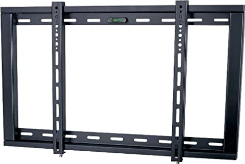 UM104M Ultimate Mounts Black Fixed Strong Wall Mount Bracket up to 60 inch Plasma/LCD/LED TV