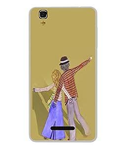 PrintVisa Designer Back Case Cover for YU Yureka :: YU Yureka AO5510 (Laila majnu Raja rani)