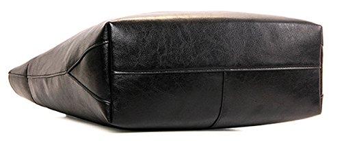 Tibes hochwertige Luxus PU Designer Handtaschen für Damen Weinrot