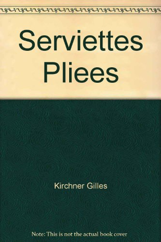 Serviettes plies
