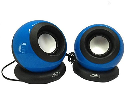 Terabyte tb-008 2. 1 Channel Portable Laptop Speaker (Blue)