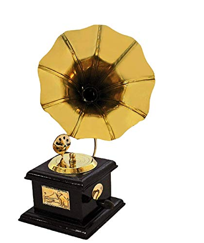 Generic Itos365 Handmade Vintage Dummy Gramophone Only For Home Decor
