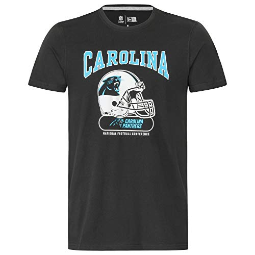 New Era Herren T-Shirt NFL Archie Tee Carolina Panthers - Black XL