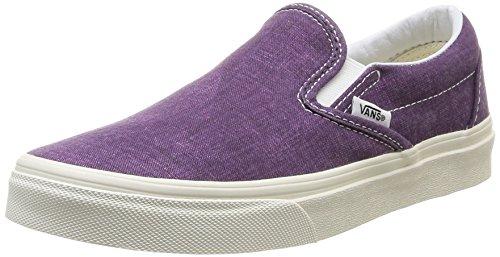 Vans U Clássico, Unisex - Erwachsene Sneaker Violett Violeta (ameixa Roxa)