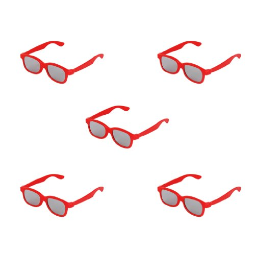 5 Stueck Kinder 3D-Brille Lens 3D Glasses Fuer Panasonic TV Sony Monitor