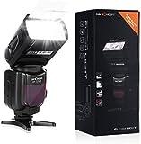 Flash Speedlite,K&F Concept® KF570II Universal Flash Light Camera Flash Gun Camera Flash Light for Canon Nikon SLR Digital SLR Film SLR Cameras and Digital Cameras