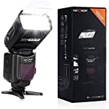 Flash Speedlite, K&F Concept® KF570II Universal Flash Light Cámara Flash Gun Cámara Flash Light para Canon Nikon SLR Digital SLR Film SLR Cámaras y Digital Cámaras