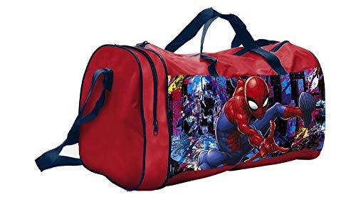 Inder - Bolsa de Deporte para niño, diseño de Spiderman
