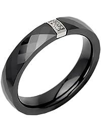 Anneau - Acier - Céramique - Oxyde de Zirconium - 437082