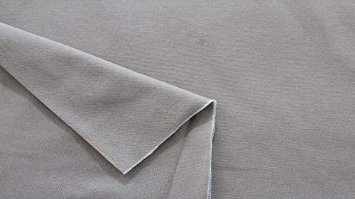 Russo tessuti tessuto tappezzeria tela tipo lino grezzo sabbia beige corda 100x280 cm