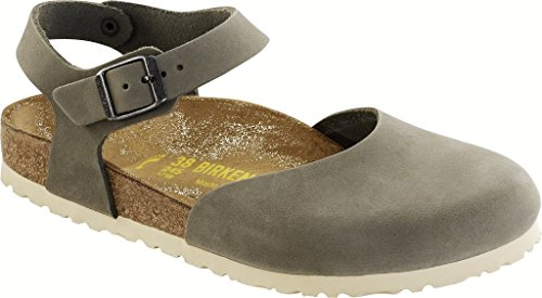 Birkenstock Messina, Mary Jane Flats femme Vert - Winter Moss
