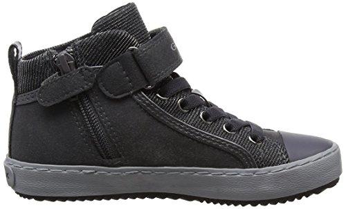 Ragazza Geox J Kalispera Girl I Alta Sneaker Grigio (dk Grigio)