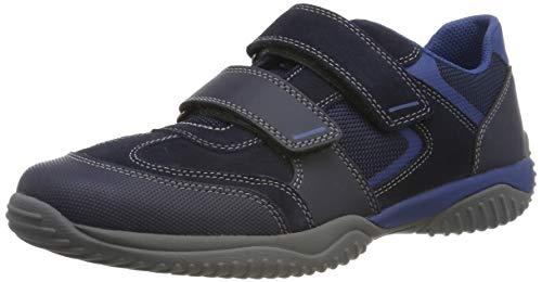 Superfit Jungen Storm Sneaker, Blau 81, 34 EU