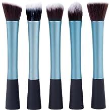 5 Pincel Brocha Maquillaje conjunto de cepillos Brocha Sombra Blush Corrector Fundación Maquillaje pinceles cosméticos Profesional Kit de Maquillaje para Maquillar Cosmético MT080