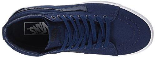 Vans Herren Ua Sk8-Hi Hohe Sneakers Blau (Mono Canvas)