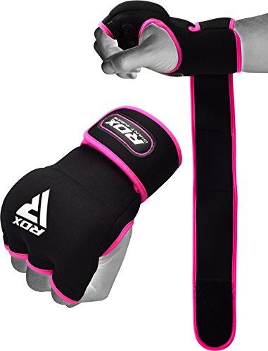 RDX Boxbandagen Elastisch Damen Boxen Innenhandschuhe MMA Handschuhe Daumenschlaufe
