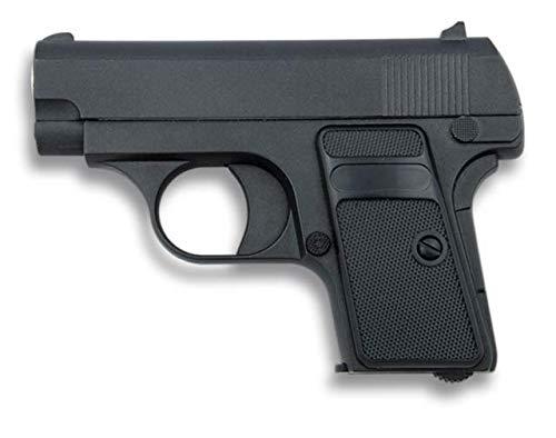 Golden Eagle Pistola Airsoft Aire Suave Mini Metal Negra Potencia 0,46 Julios 223 fps Airsoft Replica Paintball Caza Supervivencia tactico...