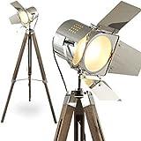 Chrome Flap floor Searchlight Lamp Tripod with Urban Design Adjustable - Christmas Gift By Nauticalmart