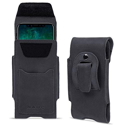 Custodia in pelle per Apple Iphone Serie Custodia Sleeve Nero Marrone Custodia Case nero